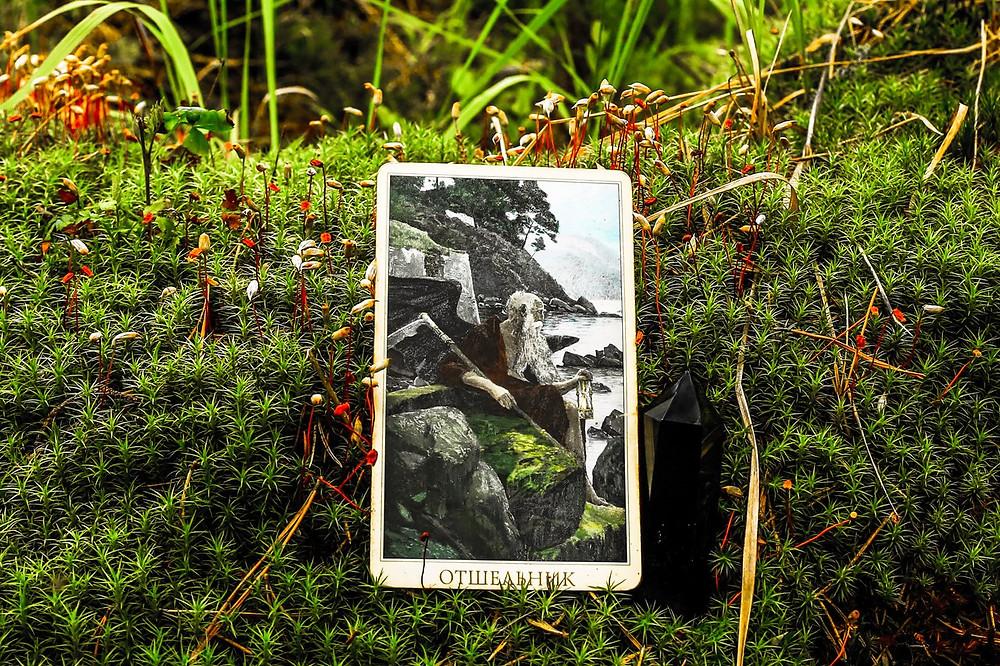 Совет карт Таро на 25 Июля. Отшельник. Автор прогноза и фотограф, таролог Алена Панфилова