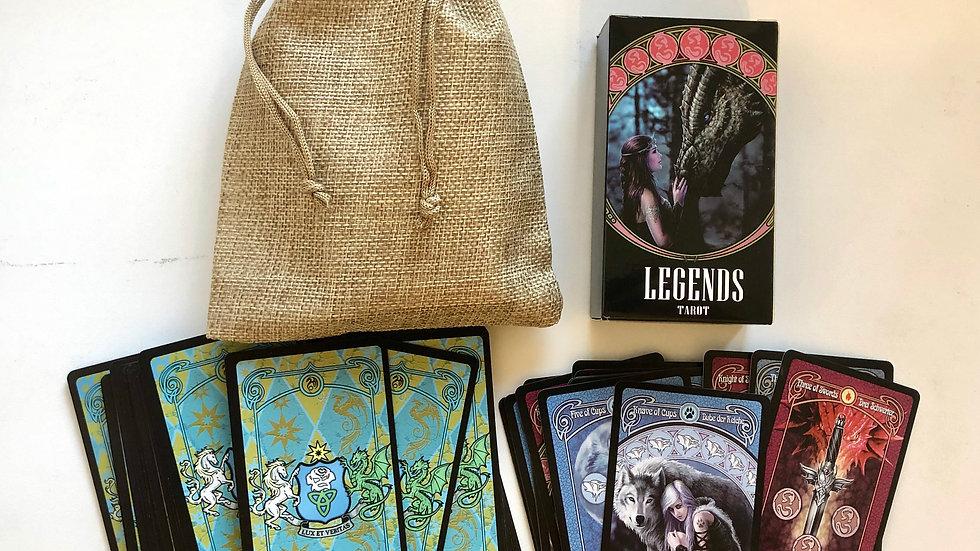 Legends Tarot.Таро легенды. Карты Таро купить.