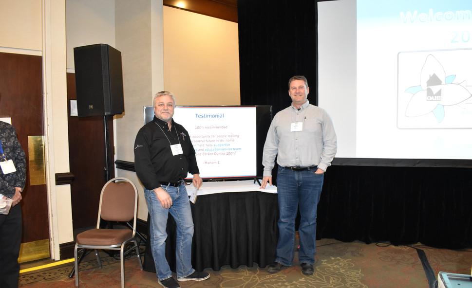 OED20 J Kwasnik and Mike Brady PK Winner
