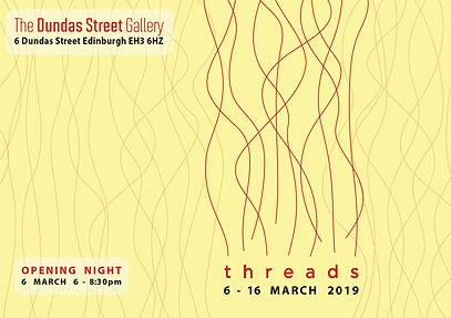 Threads Edinburgh 2019 Red and Yellow Ba