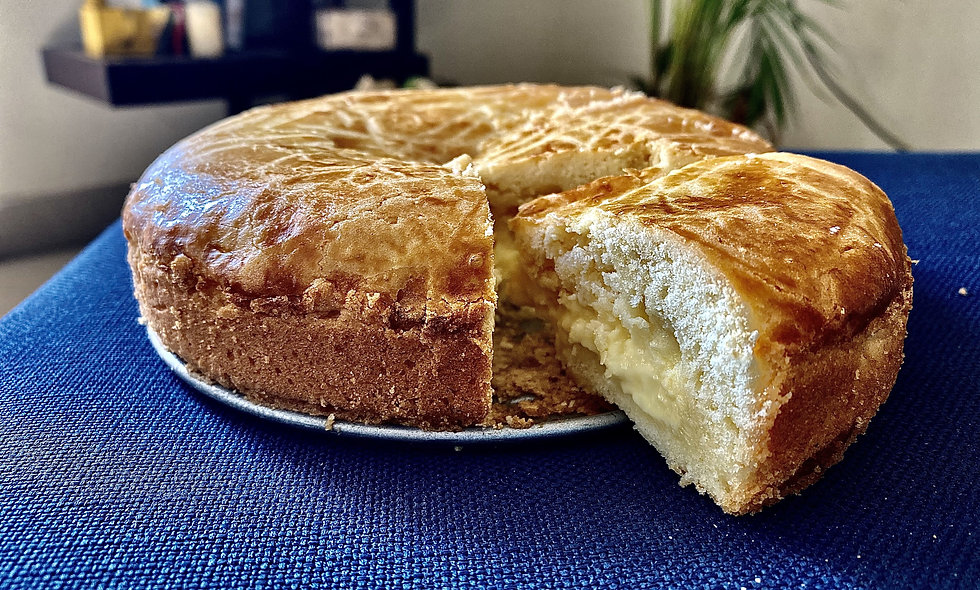Gâteau Basque Cake - France
