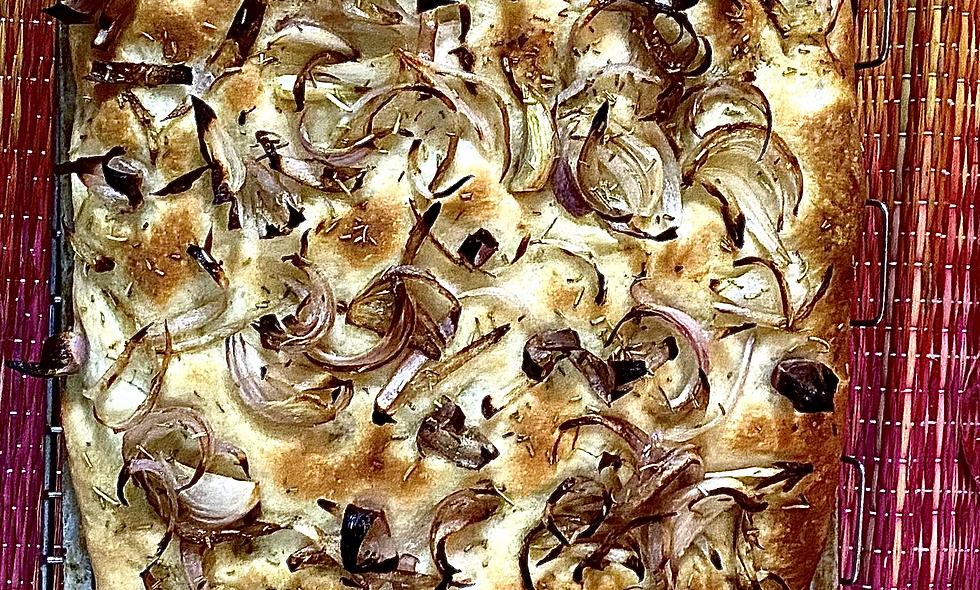 Focaccia - Onion & Rosemary