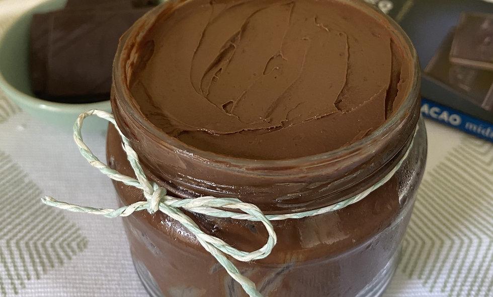 Dark Chocolate Layered Cake in a Jar - Belgium