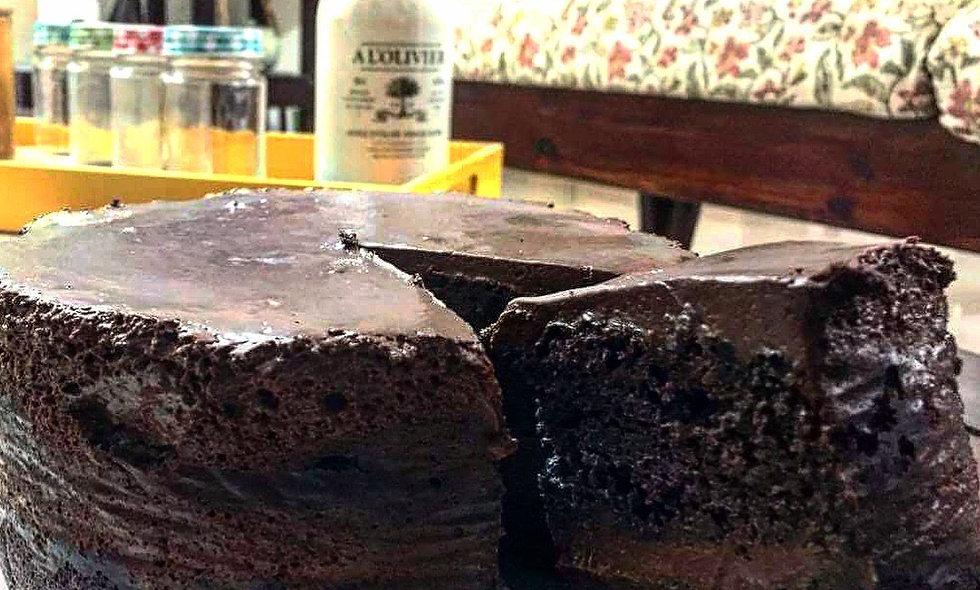 Dark Chocolate Layered Cake - Belgium