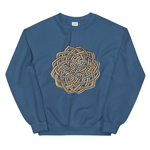 Hand-drawn Celtic Knot Mandala - Unisex Sweatshirt
