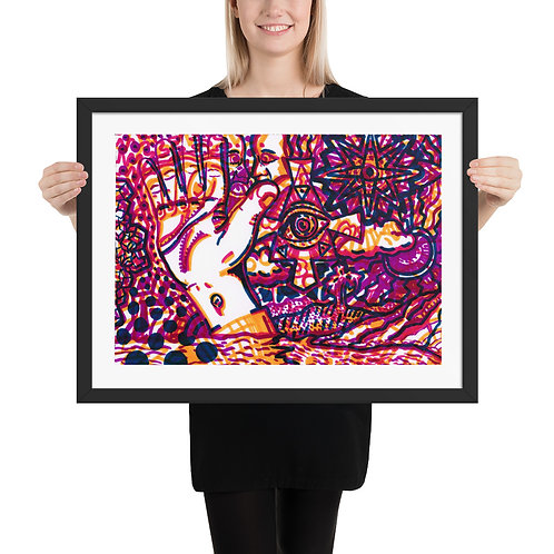 Manus Dei - Framed poster