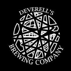 Deverell's Brewing Company logo black (2015)