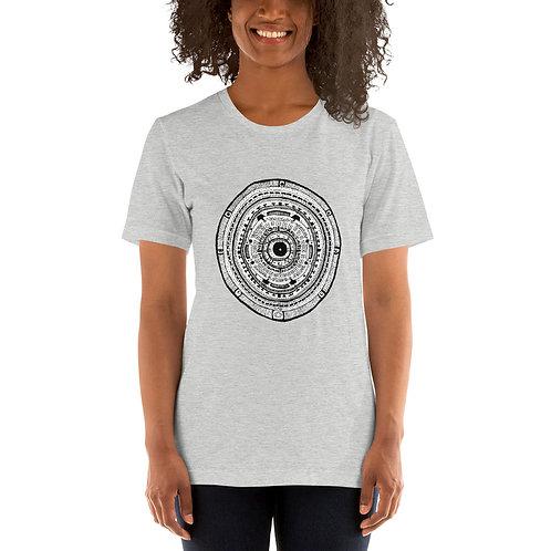 Wonky Vision Mandala - Unisex T-Shirt