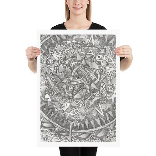 Living Mandala Poster