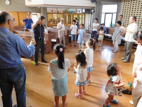 7月31日(日)教会学校「夏休みお楽しみ会」