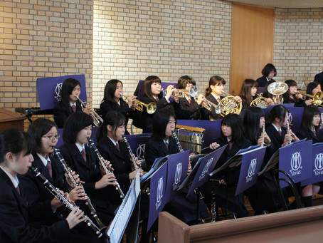 10月23日(日) 音楽礼拝 ー近江兄弟社高校吹奏楽部を迎えてー