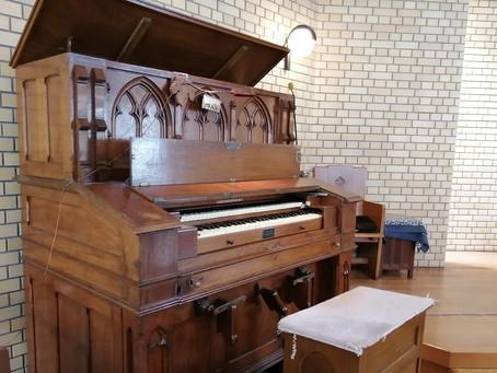 教会創立120周年事業「ハルモニウムオルガンの修理」