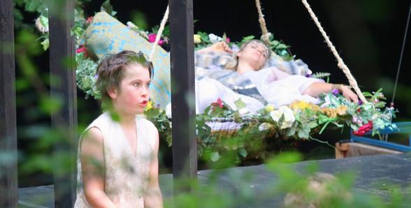 A Mid-Summer Nights Dream - Puck (Reith Humphreys) Causing mischief