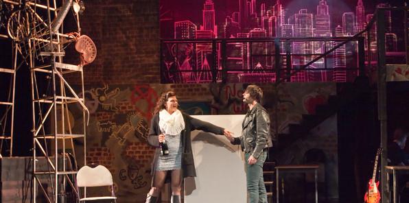 RENT-Happy New Year -Jonathan Boudin & Christina Penhale as Roger & Mimi