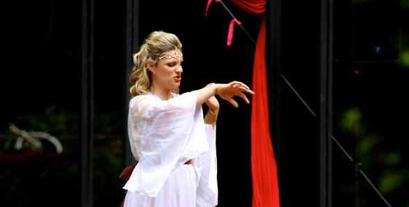 A Mid-Summer Nights Dream - Titania (Christina Penhale) falls under the spell