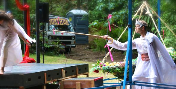 A Mid-Summer Nights Dream - Oberon (Chris Humphreys) stirs things up