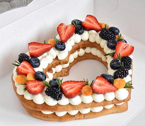 """Custom cake """"Heart"""""""