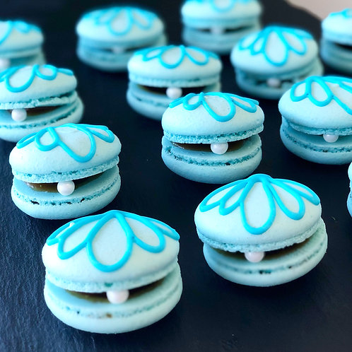 Decorated macaroons