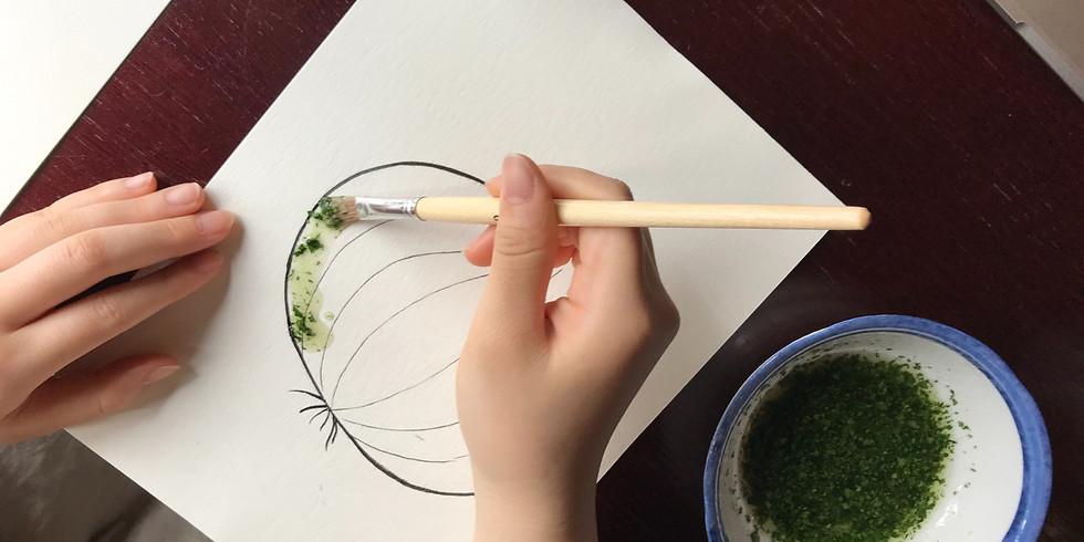 へんてこりん野菜で塗り絵