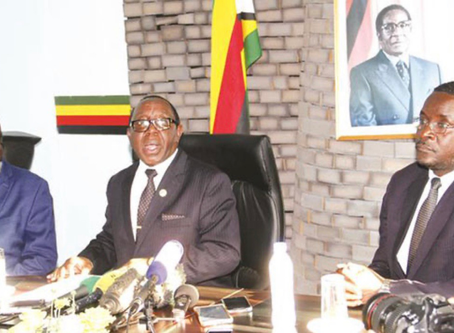 Emmerson Mnangagwa is not Zimbabwe's legitimate President