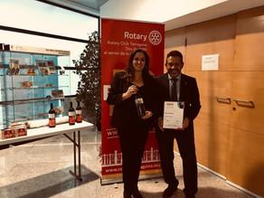 Colaboración con el Club Rotary de Tarragona y la fundación Rotaria