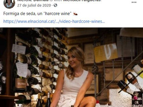 """Formiga de seda, un """"hardcore wine"""" por Meritxell Falgueras"""