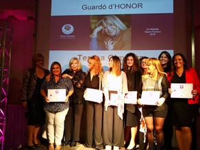 Merche Dalmau, finalista en el premio Talent femení