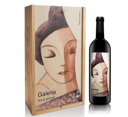 Caja madera serigrafiada  Galena