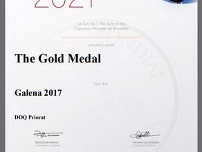 Medalla oro Concours Mondial Bruxelles 2021 - Galena 2017