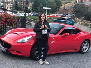 Participación en la XI ª concentración de Ferrari y Porsche en Andorra