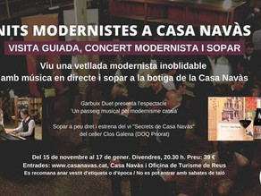 Casa Navàs : presentación y noches modernistas
