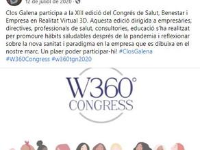 Clos Galena participa en la XIII edición del Congreso de Salud, Bienestar y Empresa