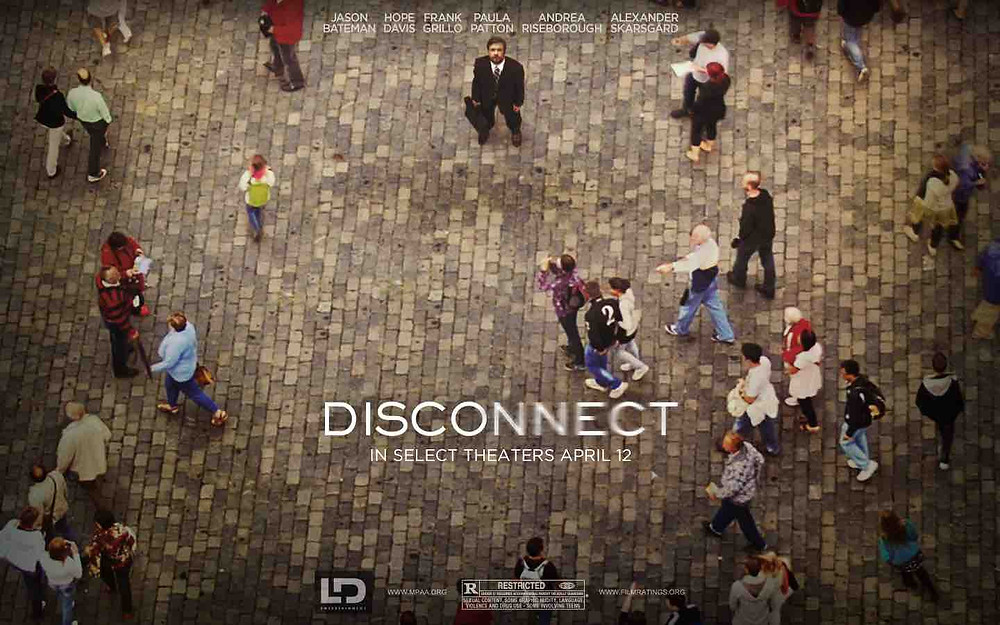 Un'altra locandina del film Disconnect