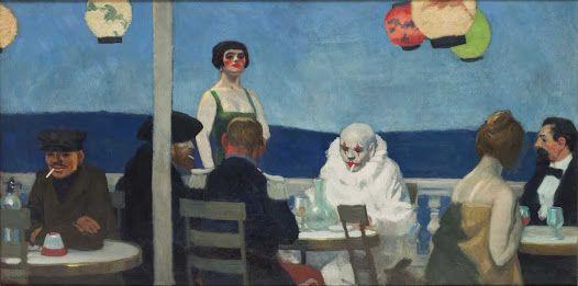 L'opera è dipinta nel 1914 ed è conservata al Whitney Museum of American Art di New York