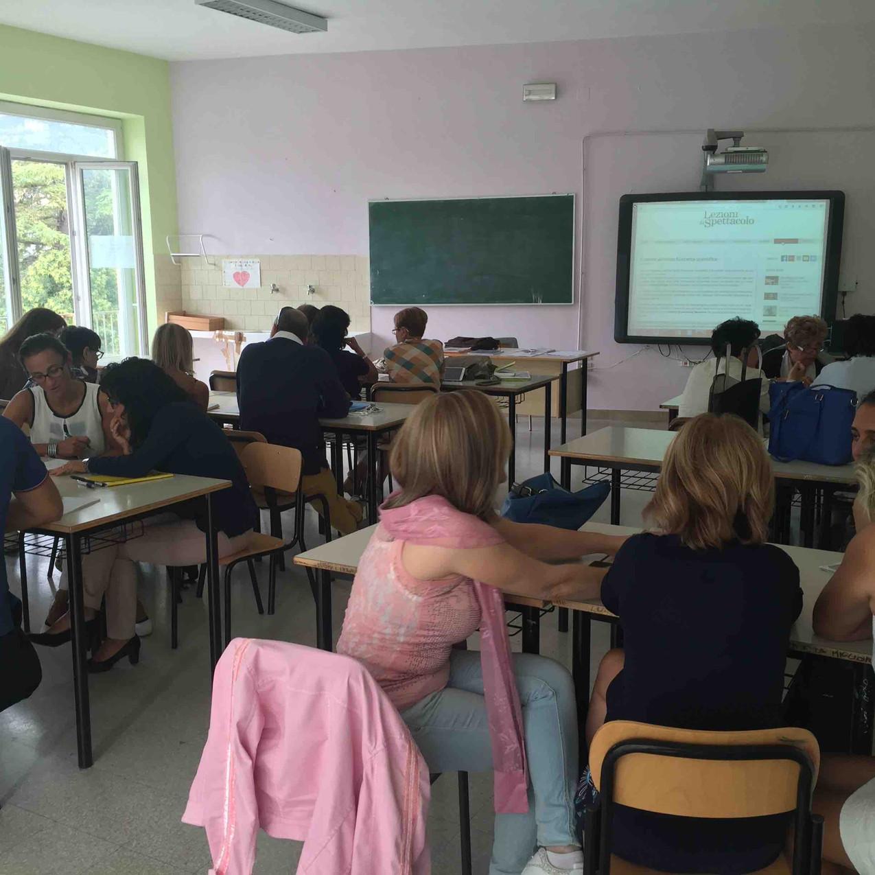 Scuola Mezzanotte di Chieti: prima e durante il corso