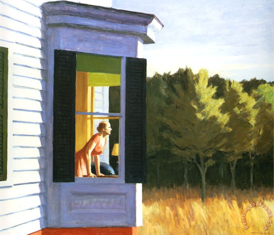 Opera dipinta nel 1950 e conservata nel National Museum of American Art di Washington D.C.