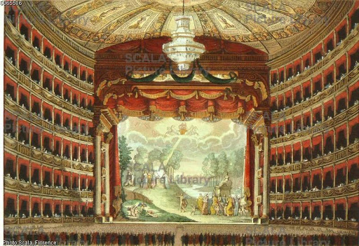 Sipario dipinto della Scala (Foto: Archivio Scala Group)