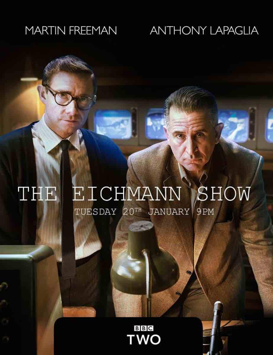 "Locandina del film ""The Eichmann show"""