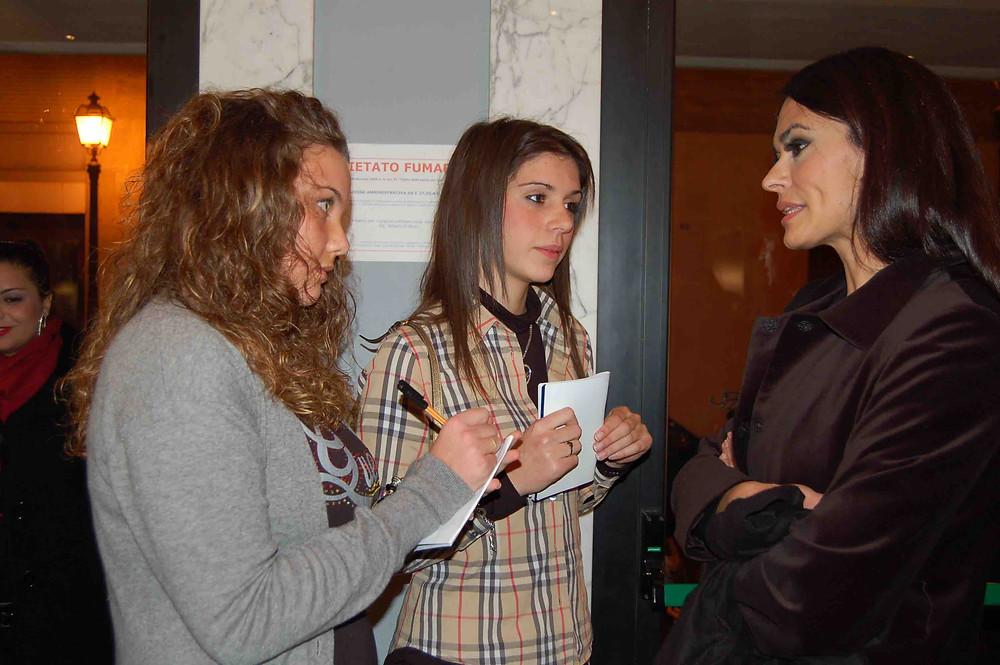 Maria Grazia Cucinotta intervistata da Diletta e Francesca