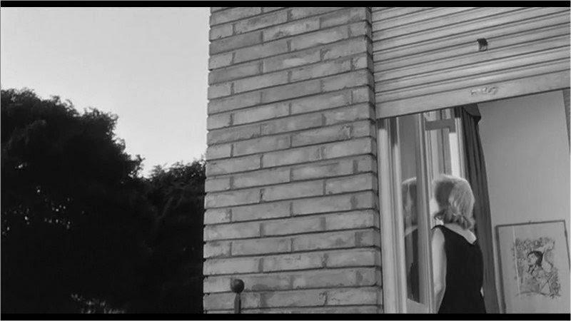 Una scena del film di Michelangelo Antonioni del 1962