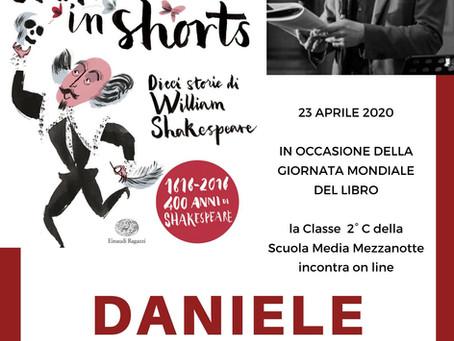 Daniele ARISTARCO incontra gli studenti per la giornata del libro