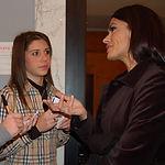 Diletta Zuccarini con Maria Grazia Cucinotta.JPG