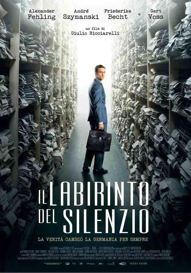 """Locandina del film """"Il labirinto del silenzio"""""""