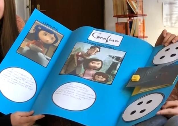 """Lapbook di """"Caroline"""" fatto da Asia e Camilla"""
