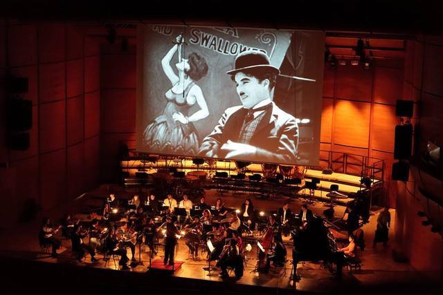 Orchestra per film muto