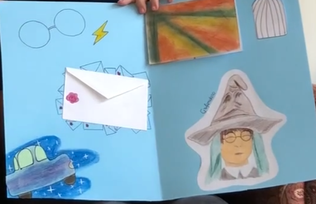 Lapbook di Daniela: Harry Potter