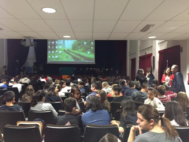 L'Aula Magna della Scuola Chiarini di Chieti ospita l'evento a favore della Legalità