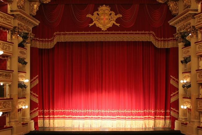 Il sipario della Scala