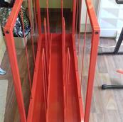 Metal mountboard holder storage trolley on wheels. Brand new, bought 2020