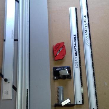 Logan Simplex Plus model 750 mount cutter 1m Logan rule 60 cm Logan rule Logan straight cutter model 701 Logan bevel cutter Logan foam board cutter series 1500